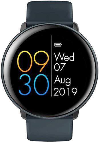 ZHENAO Fitness Tracker 2 Smart Watch Pantalla Completa de Silicona Reloj de Silicona Ritmo Cardíaco Monitoreo de la Presión Arterial Deportes de Salud Smartwatch Ip68 Modo de Deport