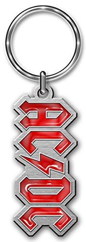 AC/DC Portachiavi Logo