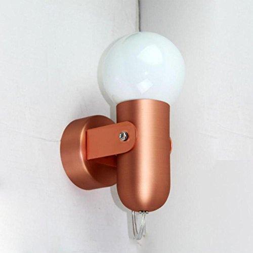 Applique Salon Mur de télévision Fenêtre rayon Simple Balcon Clôture Jardin Couloir Rayon 220V E27 , copper
