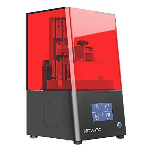 NOVA3D 3D Printer Bene4 mono LCD/SLA 405nm photocuring resin 3d printer Free Leveling Design,Equiped with Monochrome screen and WIFI Printing