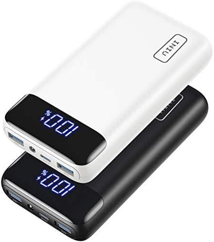 2 Pack INIU Portable Charger 20W PD QC Fast Charging 20000mAh LED Display Power Bank External product image