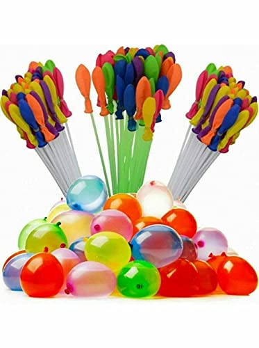 Bunch Balloons Water Bombs Blaster Launchers Self Tying Sealing Pack of 111...