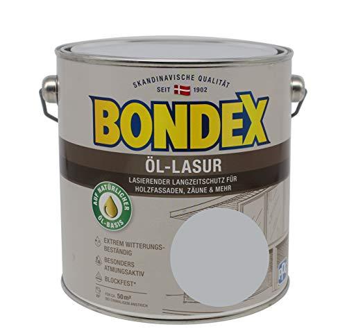 Bondex Öl-Lasur 2,50l - 391330 steingrau