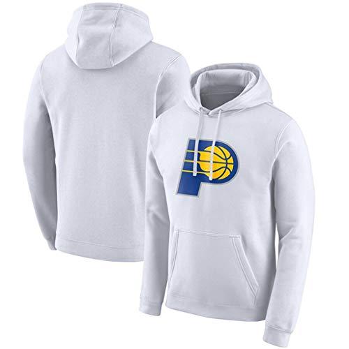Edición Pullover Ciudad de los Hombres Camiseta de Baloncesto Indiana Pacers Ropa de Entrenamiento Deportivo Informal Camiseta de Manga Larga Sudadera,S