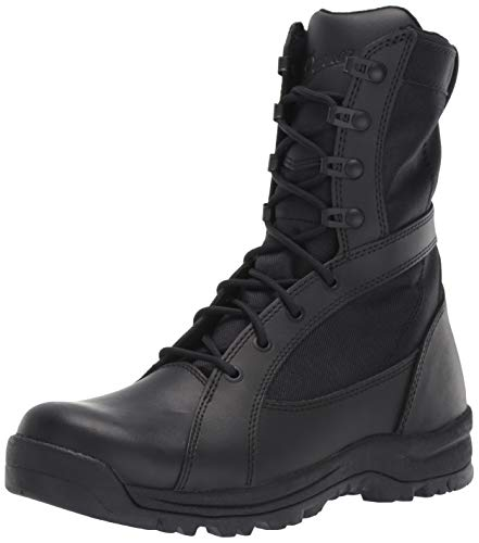 Danner womens Prowess Side-zip Military and Tactical Boot, Black, 6.5 US