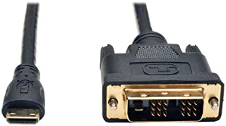 Tripp Lite Mini HDMI to DVI Cable, Digital Monitor Adapter Cable (Mini HDMI to DVI-D M/M) 6-ft. 6' (P566-006-MINI)