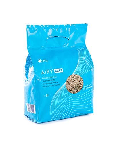 AIRY Pflanzensubstrat (3 Liter) für alle Zimmerpflanzen, Exklusive Substrat Rezeptur aus natürlichen Mineralien beugt Schimmel vor, Granulat Made in Germany aus der Eifel