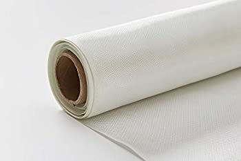 Nansheng 6 Oz Fiberglass Fabric Cloth Mesh 50  x 10 Yards Fiberglass Mat Material Roll Woven Roving for Tub Shower Boat Pool Repair  125 Sq.Ft