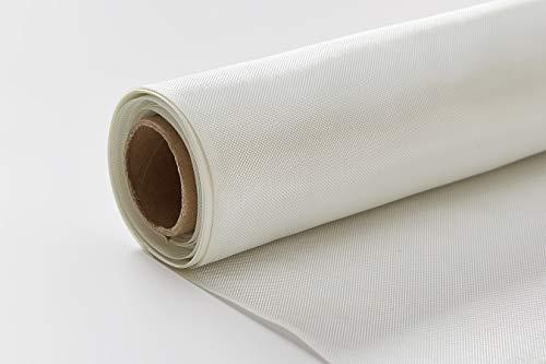 Nansheng 6 Oz. Fiberglass Fabric Cloth Mesh, 50' x 5 Yards, Fiberglass Mat Material Roll Woven Roving for Tub Shower Boat Pool Repair (62.5 Sq.Ft. )