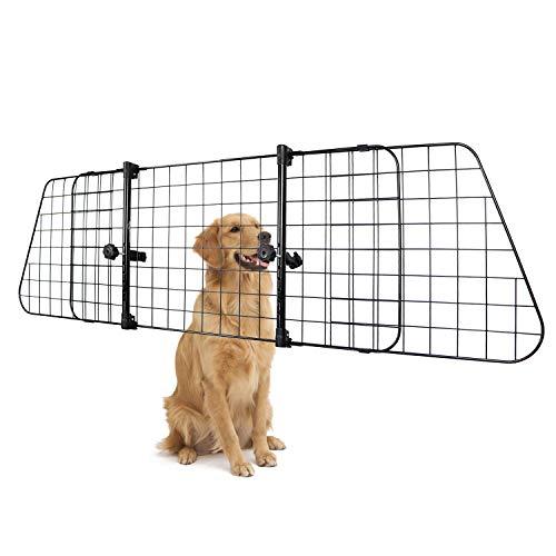 AmazonBasics Adjustable Dog Car Barrier - 16-Inch, Black
