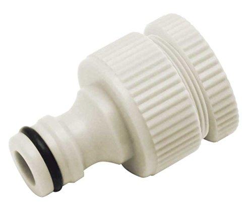 """Aqua Control Adaptador para Grifo con Doble Rosca Hembra de 1/2"""" y 3/4"""", C2520"""