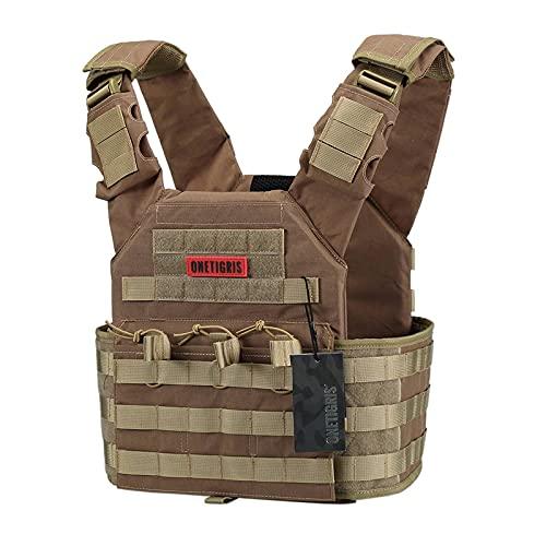 OneTigris Multicam Tactical Vest (Brown)