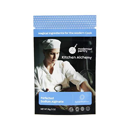 Perfected Sodium Alginate ⊘ Non-GMO ☮ Vegan ✡ OU Kosher Certified - 50g/2oz