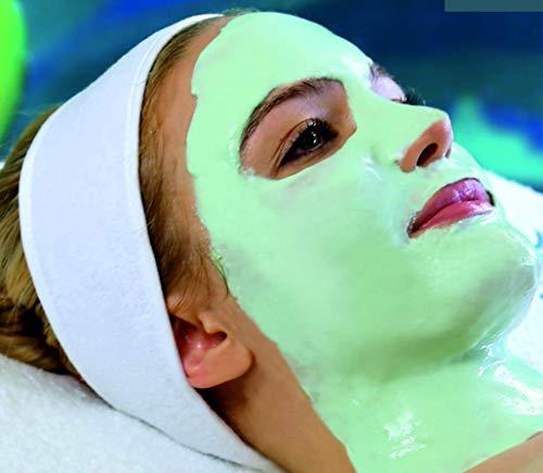 Alginate Peel-Off Feuchtigkeitspuder Maske, Mitesserentferner Gesichtsmaske Vegan, kein Abwaschen, Peeling und Porenreinigung 200 g + freie Dosis (Revitalisierende Mineralien und Algenmaske)
