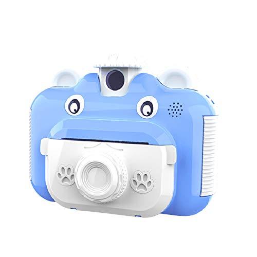Kamera Kinderkamera Kinder Digitalkamera Dual Lens 2,4-Zoll-Kinderkamera Polaroid 1080P Dual Lens 2.4 Zoll Kinderkamera Druckkamera Spielzeugkamera Sofort