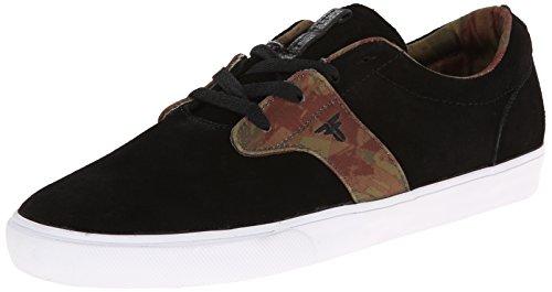 Fallen Men's FA-Chief XI Skateboarding Shoe, Black/Camo, 7 M US