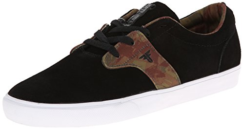 Fallen Men's FA-Chief XI Skateboarding Shoe, Black/Camo, 7 M US
