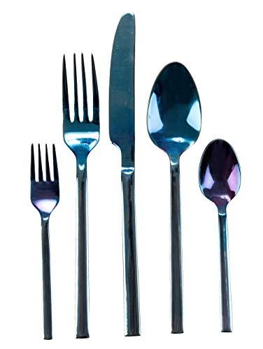 IMPRESSIONEN living Besteck-Set, 20-tlg. blau