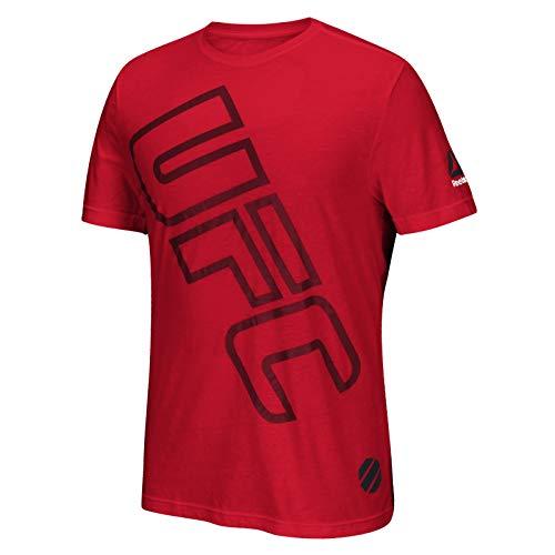 Reebok UFC Men's Red Fan Tri-Blend T-Shirt AI4141 (XX-Large)