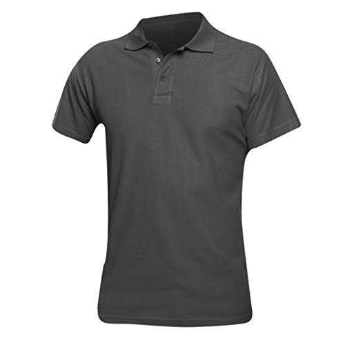 Sols Herren Spring II Polo-Shirt, Kurzarm (Medium) (Mausgrau)