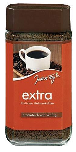 Jeden Tag Extra löslicher Bohnenkaffee, 200 g