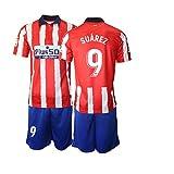 TAOZHUANG 20/21 Niños Suarez 9# Camiseta de fútbol Camiseta de Jugador (Niños de 4 a 13 años) (20)