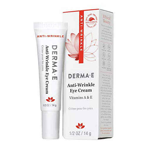 DERMA E Anti-Wrinkle Eye Creme Vitamin A and E 0.5 oz