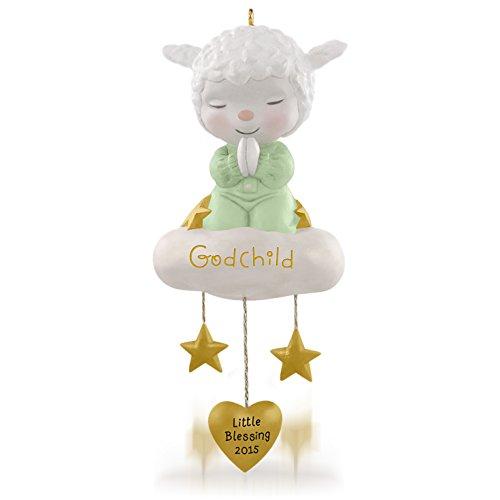 Price comparison product image Hallmark Keepsake Ornament: Sweet Little Lamb of Faith Godchild