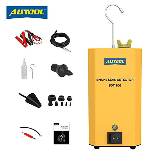 AUTOOL SDT106 Car Fuel Pipe Smoke Leak Test Machine, Automotive EVAP System Smoke Leak...