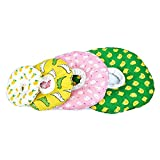 SMELL & SMILE Collar Isabelino Gato Collar de Recuperación para Mascotas Collar Protector para Gato Collares Cono de Suave Color Aleatorio (16-29CM)