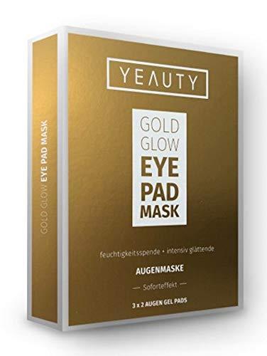 Yeauty Augenmaske mit Gold & Soforteffekt - 6 Stück