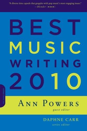 Image of Best Music Writing 2010 (Da Capo Best Music Writing)