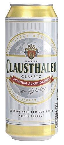 Clausthaler Original Alkoholfrei EINWEG Dose, (24 x 0,5 l)