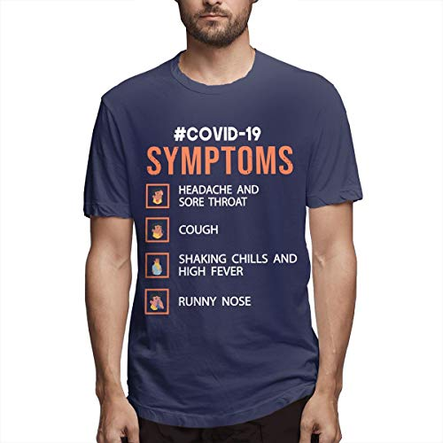 Stop Coronavirus Symptoms Camiseta de manga corta para hombre