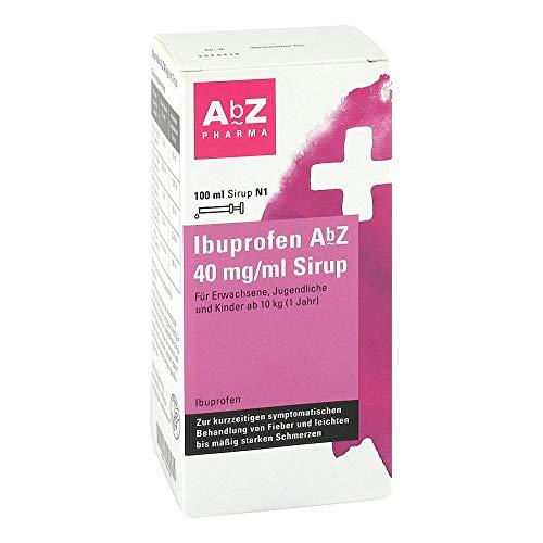Ibuprofen AbZ 40 mg/ml Sirup f�r Kinder ab 10kg, 100 ml