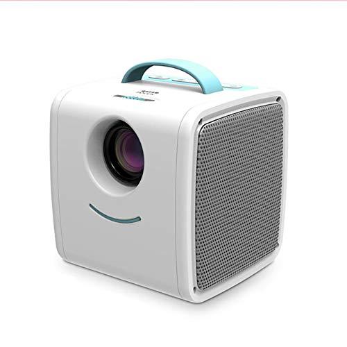 LORIEL Mini Proyector Portátil, Pantalla HD 1280P / 1000 Lúmenes/Bombilla 3000LED Proyector Doméstico Pequeño, Adecuado para El Hogar/Oficina/Escuela