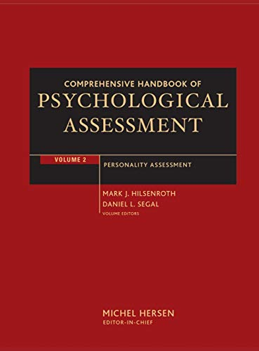 Comprehensive Handbook of Psychological Assessment, Volume 2: Personality Assessment