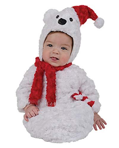Horror-Shop Polar Bear Costume bébé en peluche