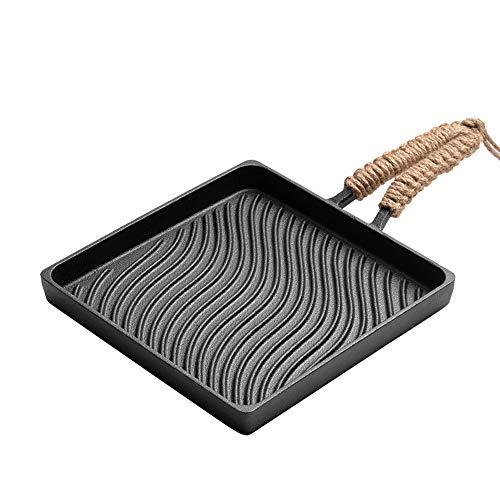 Luckm Plaza 22CM Filete Antiadherente De La Plancha Pan con