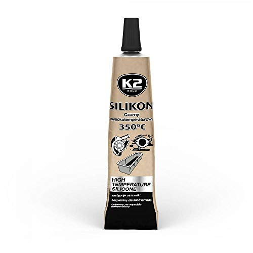 Hochtemperatur Silikon Dichtung 21g beständig bis 350°C Dichtmasse Schwarz (verschiedene Verpackungseinheiten verfügbar) (1)