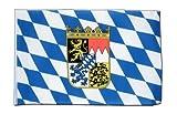 Deutschland Bayern mit Wappen Flagge, bayerische Fahne 30 x 45 cm, MaxFlags®