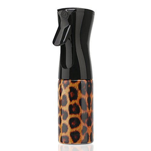 Segbeauty Botella de Spray para Cabello Niebla Fina, 160ml Botella de Pulverización Continua de Plástico, Pulverizador de Limpieza Sin Aire Botella de Agua de Mano para Plantas, Botella de Spray Vacía para Perros