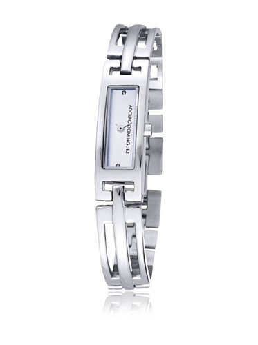 Adolfo Dominguez 14002 - Reloj de Señora quarzo Brazalete metálico dial Plateado