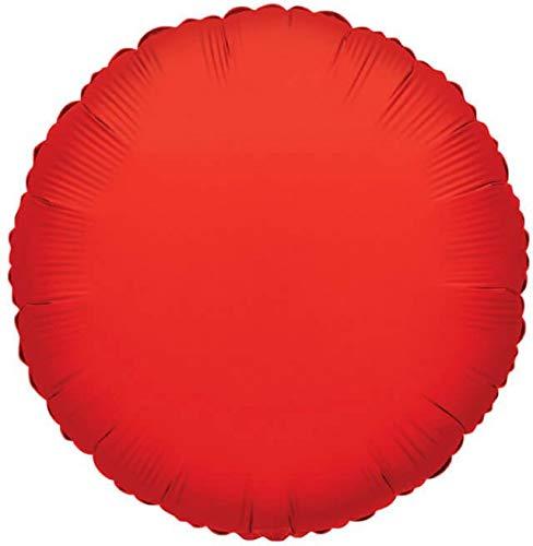Globo Redondo 22cm Rojo - Foil Poliamida - K3407109