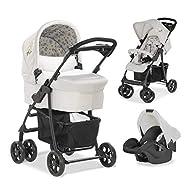 Hauck Disney Pushchair Travel System Shopper Trio Set / Up to 25 Kg / Pram with Mattress / Infant Ca...
