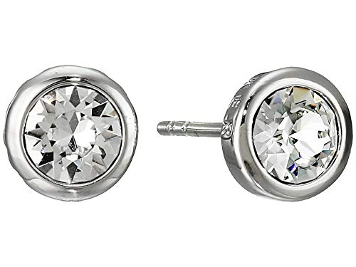 Ted Baker Sina: Crystal Stud Silver and Crystal Earrings