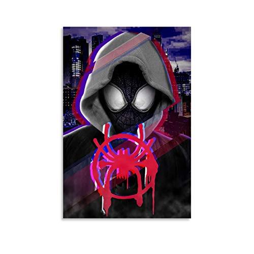 Ghychk Photoshop Art Spider-Man - Impresión artística de cómics (60 x 90 cm)