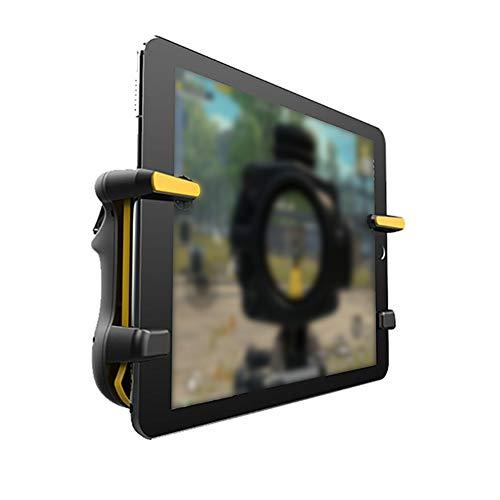 Mobiler Game-Controller für i-Pad, i-Pad Trigger, Gamepad mit L1R1 Zielauslöser für Knives Out/Rules of Survival für Tablet, Gamepad Joystick (schwarz)