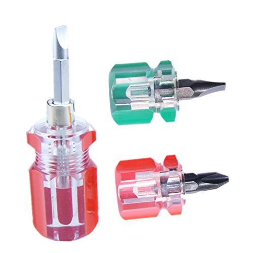 Mini Dual-use Screwdriver,Short Handle Screwdriver,Small Screwdriver Set,Repair Tools Telescopic Screwdriver (Mini dual-use)