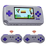 SNES Mini Retro Game Console,Handheld Portable SFC Video Game Console With HDMI TV Out & Wireless Classic Controller